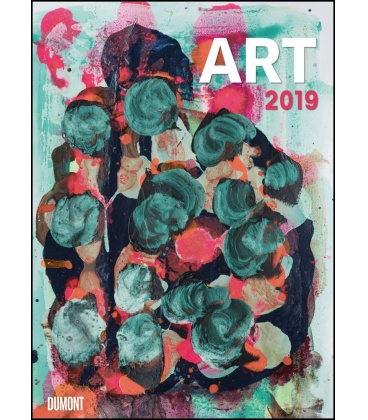 Nástěnný kalendář Umělecká malba dnes / ART Malerei heute 2019