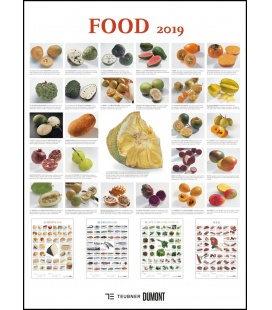 Wall calendar Food 2019