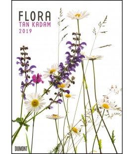 Wall calendar Tan Kadam: Flora 2019