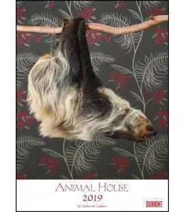 Nástěnný kalendář Zvířecí dům / Animal House 2019