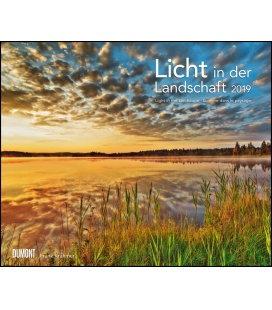 Nástěnný kalendář Světlo v krajině / Licht in der Landschaft 2019