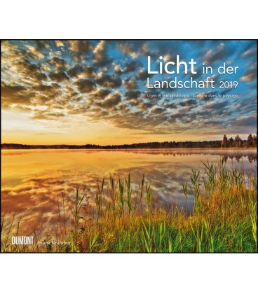 Wall calendar Licht in der Landschaft 2019