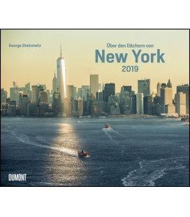Wall calendar Über den Dächern von New York 2019
