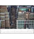 Nástěnný kalendář Nad střechami New Yorku / Über den Dächern von New York 2019