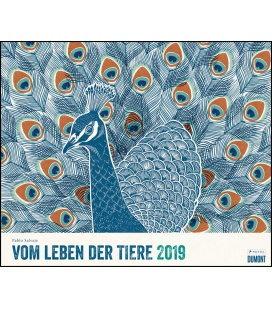Wandkalender Vom Leben der Tiere 2019