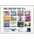 Nástěnný kalendář Ze života zvířat / Vom Leben der Tiere 2019