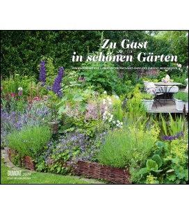 Nástěnný kalendář Host v krásných zahradách / Zu Gast in schönen Gärten 2019