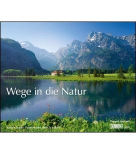 Nástěnný kalendář Cesty přírodou / Wege in die Natur 2019