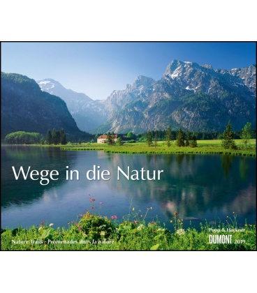 Wall calendar Wege in die Natur 2019