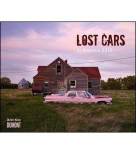 Nástěnný kalendář Ztracená auta v Americe / Lost Cars in America 2019