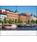 Nástěnný kalendář Moje Skandinávie / Mein Skandinavien 2019