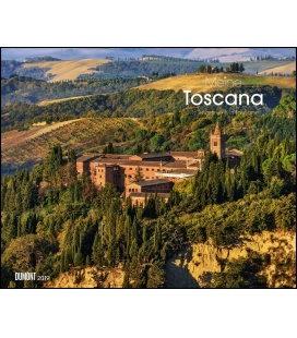 Nástěnný kalendář Moje Toskánsko / Meine Toscana 2019