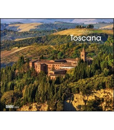 Wall calendar Meine Toscana 2019