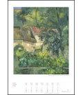 Nástěnný kalendář Zlatý kalendář umění / Goldener Kunstkalender 2019