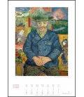 Wall calendar Goldener Kunstkalender 2019