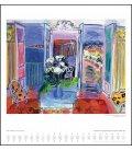 Nástěnný kalendář Díla mistrů / DuMonts Großer Kunstkalender 2019