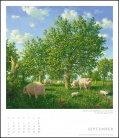 Nástěnný kalendář Podivný svět / Die seltsame Welt des Michael Sowa 2019