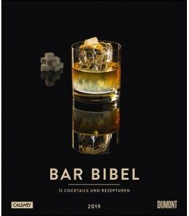 Nástěnný kalendář Koktejly / Bar Bibel – Cocktails 2019