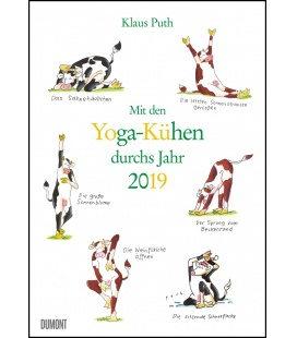 Nástěnný kalendář S jógou krav po celý rok / Mit den Yoga-Kühen durchs Jahr 2019