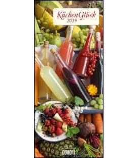 Nástěnný kalendář Radost v kuchyni / KüchenGlück 2019