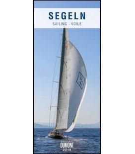Nástěnný kalendář Sailing, Plachetnice / Segeln 2019