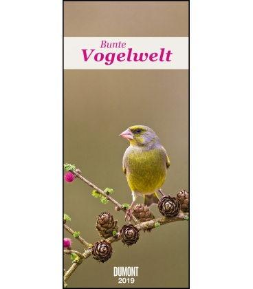 Wall calendar DuMonts Bunte Vogelwelt 2019