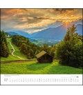 Nástěnný kalendář Hory / ...geliebte Berge 2019