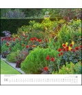 Nástěnný kalendář Anglické zahrady / Englische Gärten 2019