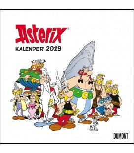 Nástěnný kalendář Asterix 2019