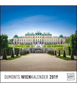Nástěnný kalendář Vídeň / Wien 2019