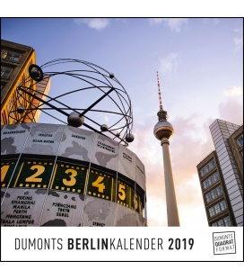 Nástěnný kalendář Berlín / Berlin 2019