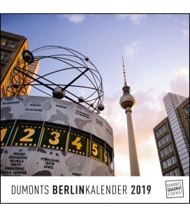 Wall calendar Berlin 2019