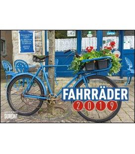 Nástěnný kalendář Jízdní kola / Fahrräder 2019