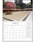 Nástěnný kalendář Japonské zahrady / Japanische Gärten 2019