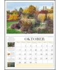 Nástěnný kalendář Zahrady / Gartenkalender 2019