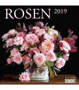 Nástěnný kalendář Růže / Rosen 2019