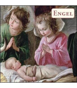 Nástěnný kalendář Andělé / Engel 2019