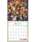 Nástěnný kalendář Medvídek Teddy / Der Teddybär Kalender 2019