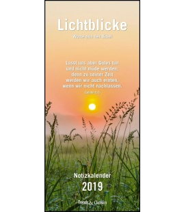 Wall calendar Familien Lichtblicke T&C 2019