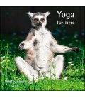 Nástěnný kalendář Jóga pro zvířata / Yoga für Tiere T&C 2019