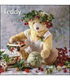 Wall calendar Teddy T&C 2019