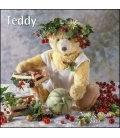 Nástěnný kalendář Medvídek Teddy / Teddy T&C 2019