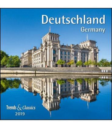 Wall calendar Deutschland T&C 2019