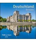 Nástěnný kalendář Německo / Deutschland T&C 2019