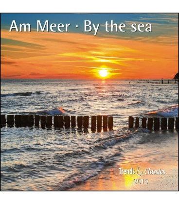 Nástěnný kalendář Moře / Am Meer T&C 2019