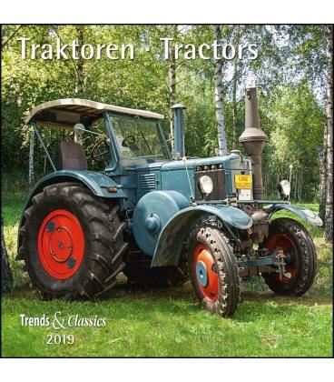 Nástěnný kalendář Traktory / Traktoren T&C 2019