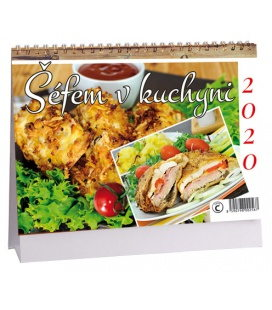 Table calendar Šéfem v kuchyni 2020