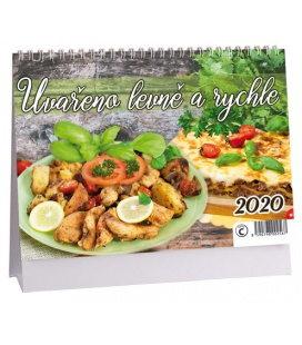 Table calendar Uvařeno levně a chutně 2020