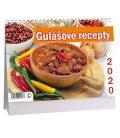 Table calendar Gulášové recepty 2020