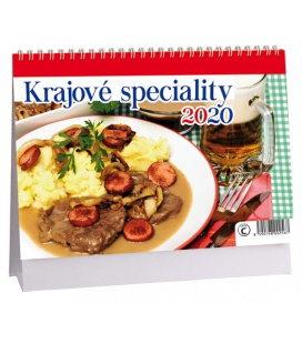 Table calendar Krajové speciality 2020